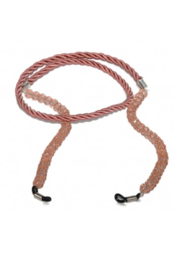 Pink Cord with Crystal