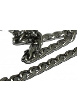 Gun Metal Aluminium Chain